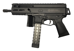 "Grand Power Stribog SP9A1-SB 9MM 8"" 30+1 Pistol w/ Brace and 3 Mags"