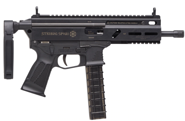 Grand Power Stribog 9mm PDW with KES Brace & Tailhook